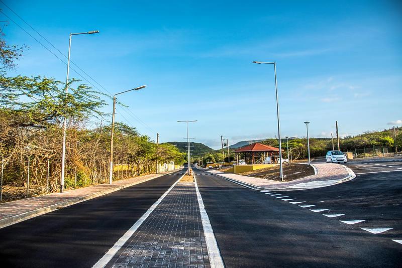Aliansa Civil & Road Works ta orguyoso di e proyekto